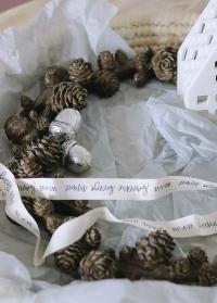 Декоративные серебряные желуди от датского производителя Lene Bjerre фото