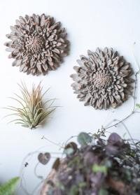 Декоративная хризантема из терракоты Serafina Flower Lene Bjerre фото