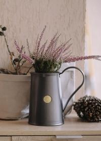 Кувшин металлический черный для цветов Classic Graphite 9222-GRA Haws фото