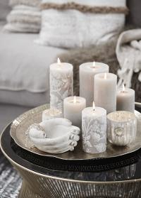 Ваза в форме рук  в цвете античный белый Flavia Hands от датского бренда Lene Bjerre фото