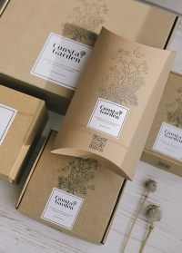 Коробка-конверт подарочный из крафта Consta Garden фото