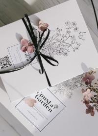 Оригинальный подарок флористу в красивой подарочной упаковке от Consta Garden фото