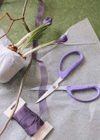 Японские ножницы для крафта в подарок флористу Lavender Garden от Consta Garden фото
