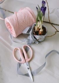 Ножницы флористические для левшей Florist Blue Chikamasa фото