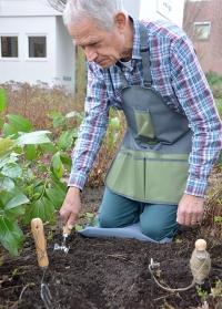 Фартук садовода огородника Gardentool Grey Esschert Design GT86 фото