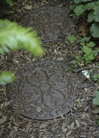 Плитка садовая пошаговая из чугуна Classic Esschert Desig SS8 фото