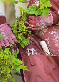 Подарок садоводу «Увлеченная садовница» - фартук для сада и огорода с карманами для  инструментов GardenGirl фото