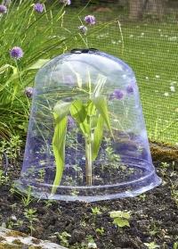 Пластиковый колпак для укрытия растений в саду и огороде Jumbo Bell Smart Garden фото