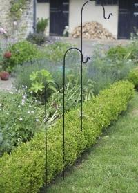 Держатель садовый в грунт для цветочных кашпо, фонарей и кормушек Smart Garden картинка