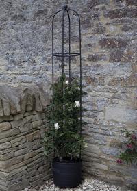 Опора садовая металлическая для вьющихся растений Smart Obelisk Smart Garden картинка