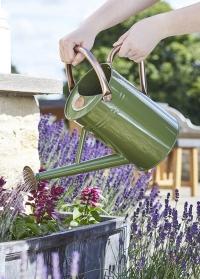 Лейка металлическая садовая для цветов 4.5 л. Sage Green Smart Garden фото