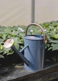 Металлическая садовая лейка для цветов 4.5 л. Blue Smart Garden фото
