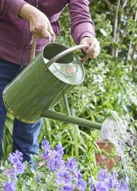 Металлическая садовая лейка 9 л. для сада и огорода Sage Green Steel Smart Garden фото