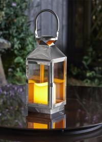 Декоративный фонарь-подсвечник в скандинавском стиле Stokholm by Outside In Smart Garden фото