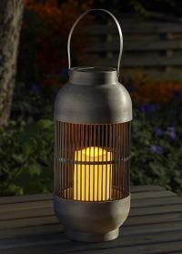 Садовый фонарь на солнечных батарейках в японском стиле Rivoli Smart Garden фото