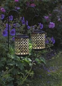 Солнечный садовый фонарь на солнечных батарейках Riad Smart Garden фото