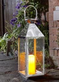 Садовый фонарь со свечой Casablanca by Outside In Smart Garden фото