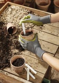 Перчатки садовые обливные с нитрилом Fresh Green от Briers фото