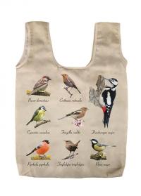 Сумка-авоська для покупок складная Birds Esschert Design TP308 фото