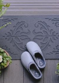 Придверный коврик из полиамида на резиновой основе Classical RB219 Esschert Design фото