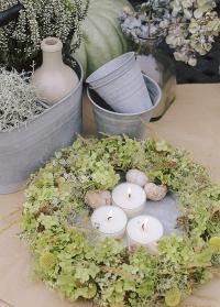 Оцинкованная тарелка для декора диаметр 25 см. OZ56 Esschert Design картинка