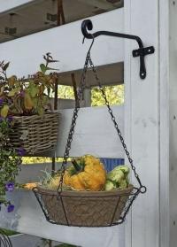 Настенный декоративный кронштейн прямой 15 см Forge Square Smart Garden фото