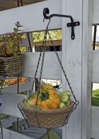 Кронштейн декоративный настенный 25 см Forge Square Smart Garden фото