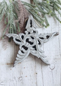 Новогоднее украшение в форме звезды Lene Bjerre фото