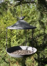 Металлическая кормушка для птиц Grey Metal FB398 Esschert Design картинка