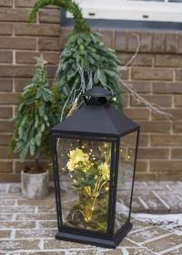 Напольный подсвечник-фонарь для свечи WL78 Esschert Design фото