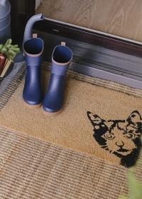 Придверный коврик из кокосового волокна Peek-a-boo! Cat RB239 Esschert Design фото