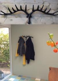 Настенная декоративная вешалка большая Рога оленя DB79 от Esschert Design фото