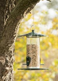 Кормушка для птиц закрытая Дубовые листья для сада и дачи FB484 Esschert Design фото