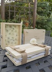 Деревянный пресс для гербария с ремнями FH007 Esschert Design фото