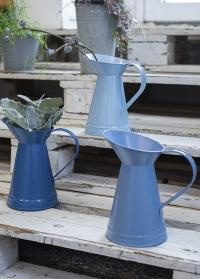 Кувшины эмалированный для цветов Blue Shades EL100 от Esschert Design фото