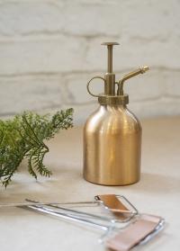 Пульверизатор для растений алюминиевый медный цвет Copper TG236 Esschert Design фото