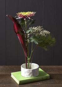 Кензан в японской вазе для цветов Fuji Burgon & Ball фото