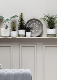Кашпо керамическое для комнатных цветов Helsia 15,5 см Lene Bjerre фото