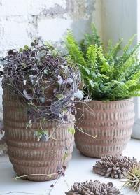 Терракотовое кашпо для комнатных цветов Jillia 14 см Lene Bjerre фото