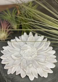 Декор интерьерный настольный Белая хризантема Serafina Flower Lene Bjerre фото