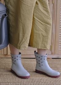 Стильные резиновые женские ботинки женские Tokyo для прогулок и дачи AJS-Blackfox фото