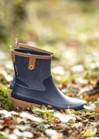 Стильные резиновые женские ботинки женские Phoenix для прогулок и дачи AJS-Blackfox фото
