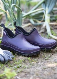 Ботинки из эва дачные для сада и огорода Oregon Violet французского бренда AJS-Blackfox фото