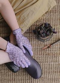 Перчатки садовые с покрытием из латекса Eglantine Pink  AJS-Blackfox фото
