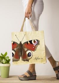 Сумка хозяйственная для покупок Бабочки Butterfliers TP313 Esschert Design фото