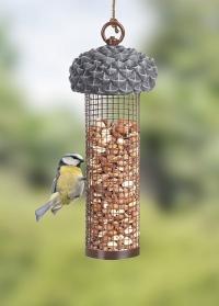 Подвесная кормушка для птиц Желудь с колбой для орехов FB534 Esschert Design фото