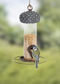 Дизайнерская кормушка для птиц Желудь с колбой для семечек FB533 Esschert Design фото