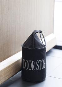 Стоппер для двери напольный черный Esschert Design