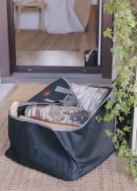 Сумка из денима для переноски и хранения дров Denim FF480 Esschert Design фото