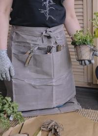 Фартук для сада и огорода из вощеной ткани Waxed GT208 Esschert Design фото